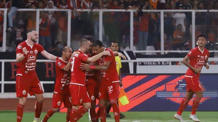 Hasil Piala Gubernur Jatim 2020 - Persija Jakarta Pesta Gol ke Gawang Persela, Marko Simic Hattrick