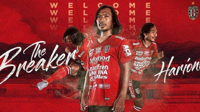 Bursa Transfer Liga 1 - Hariono Eks Persib Bandung Resmi Gabung Bali United, Ini Reaksi Bobotoh