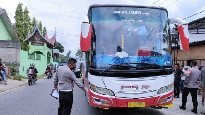Insiden Berdarah di Padang: Bus Ini Tabrak 5 Siswa SD, 3 Tewas & 2 Kritis, Begini Nasib Sopir Bus