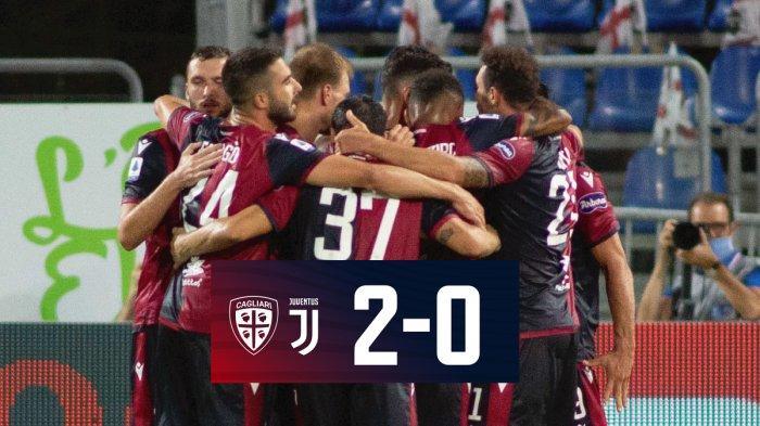 Hasil Liga Italia Cagliari Vs Juventus Tak Ada Gol Dari Cristiano Ronaldo Juventus Kalah Tribun Batam