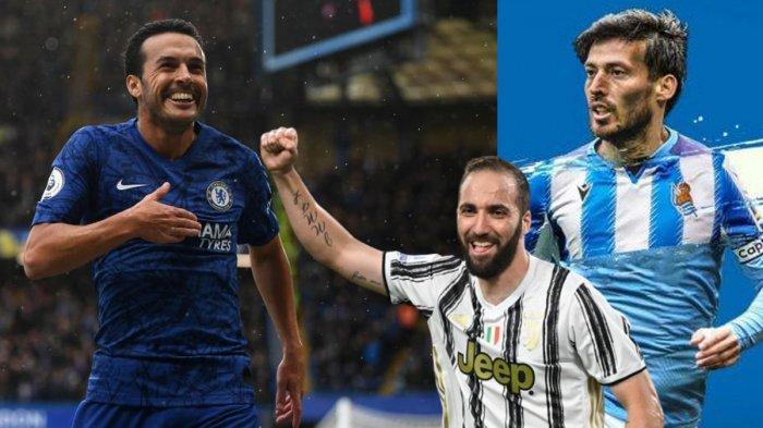Update Transfer Liga Italia Lazio Marah David Silva Pilih Sociedad Eks Chelsea Pedro Sudah Di Roma Tribun Batam