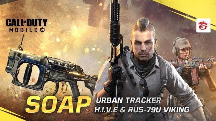 Segera Update ke Season 4, Garena Call of Duty Mobile Hadirkan Karakter Legendaris, Soap