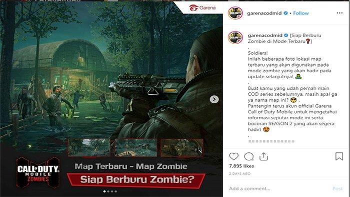 Call of Duty Mobile Hadirkan Mode Zombie, Rilis (22/11/2019), Bocoran Fitur Perk Machine