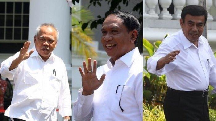 Inilah Daftar Terbaru Menteri Kabinet Baru Jokowi: Sri Mulyani Menkeu, Dokter Terawan Menteri Apa?