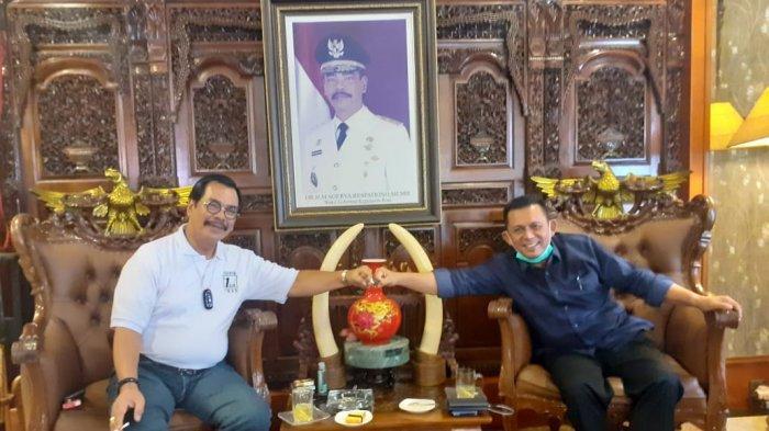 Soerya Respationo Temui Ansar Ahmad dan Marlin Agustina Bahas Pembangunan Kepri
