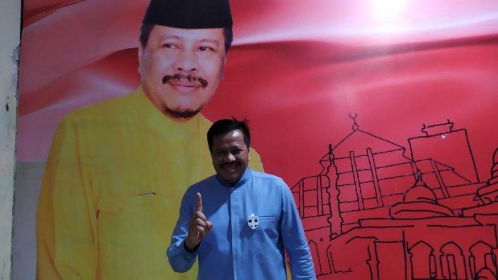 LUKITA DINARSYAH TUWO - Calon Wali kota Batam Lukita Dinarsyah Tuwo. Ia mengaku sudah tidak sabar menanti debat kandidat Pilkada Batam yang digelar KPU Batam.