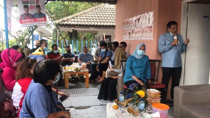 LUKITA DINARSYAH TUWO - Calon Wali kota Batam Lukita Dinarsyah Tuwo saat menghadiri acara bersama warga Kota Batam, Provinsi Kepri. Ia mengaku sudah tidak sabar menanti debat kandidat Pilkada Batam yang digelar KPU Batam.