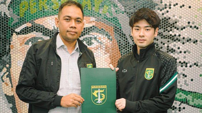 Transfer Liga 1 - Persebaya Rekrut Pemain Jepang Taisei Marukawa, Pernah Main di Europa League