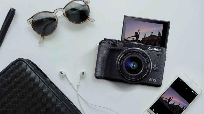 Canon EOS M6 Mark II,  Mirrorless 32,5 MP dengan Perekam Video 4K dan Stabilizer, Segini Harganya
