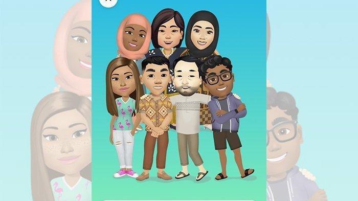 Begini Cara Mudah Bikin Avatar Facebook di Smartphone Tanpa Aplikasi Tambahan