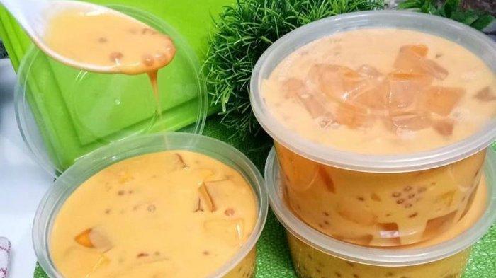 RESEP Mango Sago Dessert, Hidangan Praktis Cocok untuk Berbuka Puasa