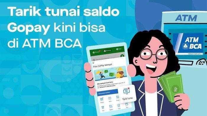 Begini Cara Tarik Tunai Saldo GoPay di ATM BCA, Perhatikan Langkah-langkah Ini