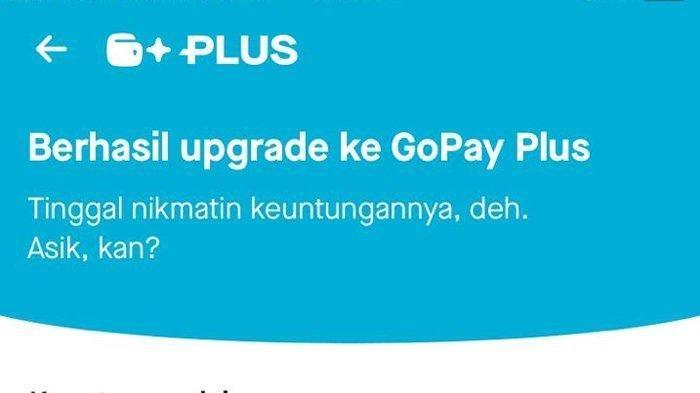 Begini Cara Upgrade GoPay Plus, Bisa Transfer Saldo ke Rekening Bank