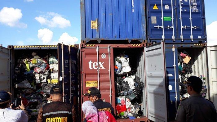 Mengandung B3, 38 Kontainer Limbah Plastik di Pelabuhan Batu Ampar Batam Harus Segera Di Re-Ekspor