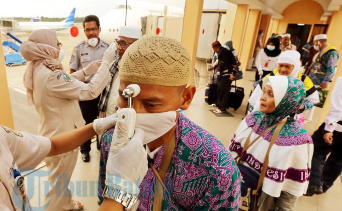 Petugas Siapkan Alat Pendeteksi Virus
