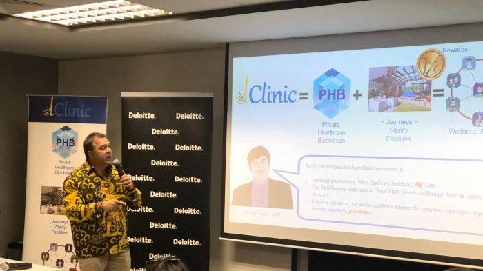 BP Batam Involved on Batam Medical Blockchain Seminar in Singapore