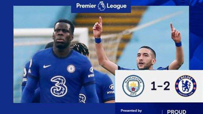 Hasil Man City vs Chelsea, Penalti Panenka Aguero Gagal, Chelsea Menang, Pesta Juara City Tertunda