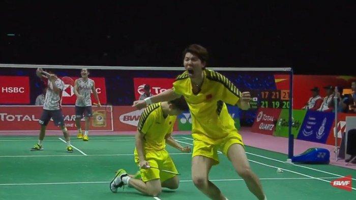 BREAKINGNEWS. China Juara Piala Thomas 2018! Kalahkan Jepang 3-1