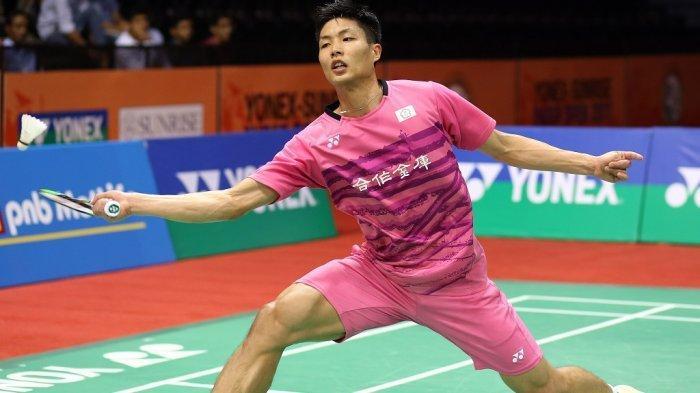 Hasil Indonesia Open 2019 - Kalahkan Wakil Denmark, Chou Tien Chen Juarai Indonesia Open 2019