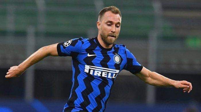Christian Eriksen kurang mendapat menit bermain di Inter Milan musim 2020/2021