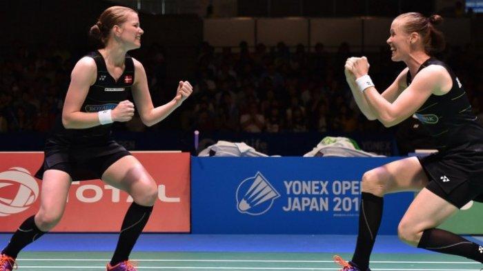 All England 2018- All Japan Final di Ganda Putri Gagal, Pasangan Denmark Ini Penyebabnya
