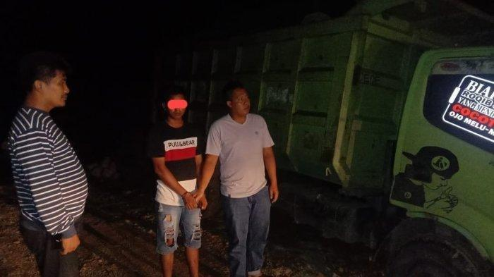 DW, sopir truk angkutan diduga melakukan hubungan intim pada kekasihnya yang masih di bawah umur hingga beberapa kali.