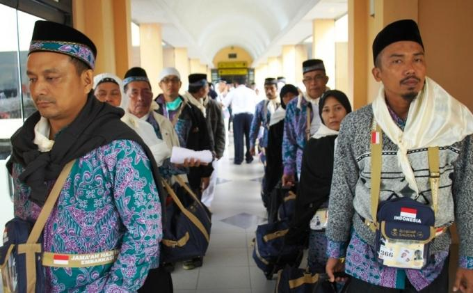 Jemaah Haji Karimun Pulang Ke Tanah Air