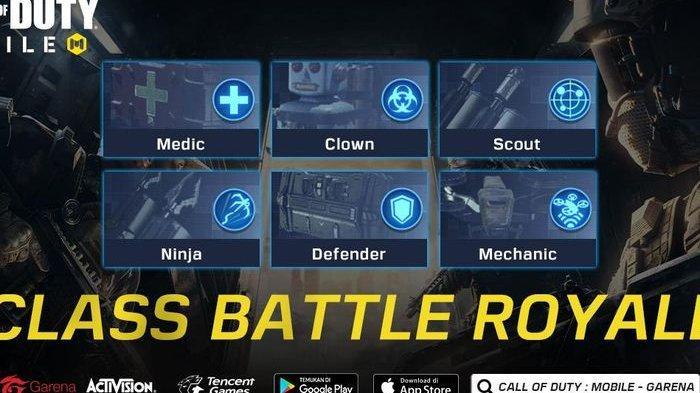 Gamer Wajib Tahu, Ini 6 Penjelasan Tipe Class Call of Duty Mobile