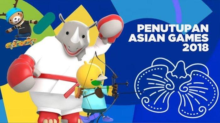 Bertema Milenial Bertabur Bintang, Ini Dia 22 Nama Pengisi Closing Ceremony Asian Games 2018