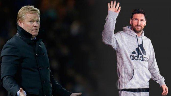 Ronald Koeman Ngaku Sering Komunikasi dengan Lionel Messi: Masalahnya dengan Klub, Bukan Saya