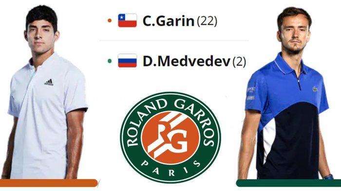 Jadwal Prancis Open 2021: Nadal vs Sinner, Berrettini vsFederer, Djokovic vsMusetti