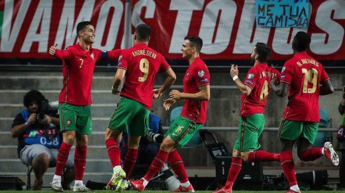 Hasil Portugal vs Luksemburg, Cristiano Ronaldo Hattrick, Portugal Menang, Pesta 5 Gol