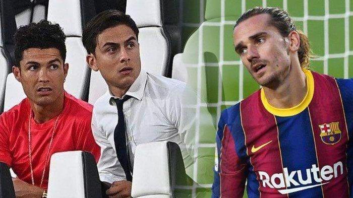 Berita Juventus- 7 Pemain Juventus Habis Kontrak 2022, Barcelona Ingin Tukar Griezmann dengan Dybala