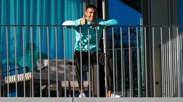 Kabar Terbaru Cristiano Ronaldo Setelah Dinyatakan Positif Covid-19, Chellini: Dia Baik-baik Saja