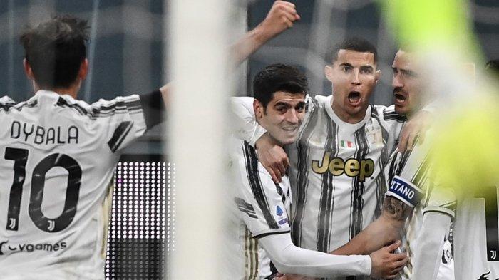 Hasil Liga Italia - Kalahkan Crotone 3-0, Juventus Buntuti AC Milan, Cristiano Ronaldo 2 Gol