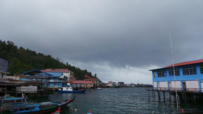 Foto cuaca Anambas yag diambil beberapa waktu lalu.