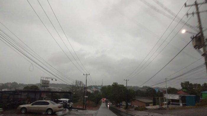 Info Cuaca Kepri, BMKG Prediksi Hujan Ringan, Potensi Angin Kencang Selasa 4 Mei 2021