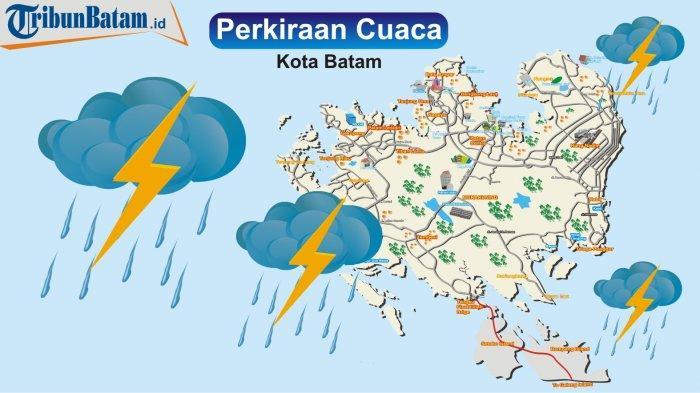 INFO Cuaca Wilayah Kepri, Besok Kamis (1/4/2021) Diprediksi Hujan di Pagi dan Siang Hari