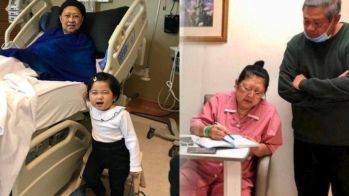 Cucu Terkecil Masih Cari Ani Yudhoyono untuk Menemaninya Tidur, Belum Tahu Nenek Sudah Meninggal
