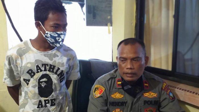 TERLILIT Hutang, Kusnadi Curi Pelat Baja Perusahaan di Tanjungpinang Hampir 1 Ton