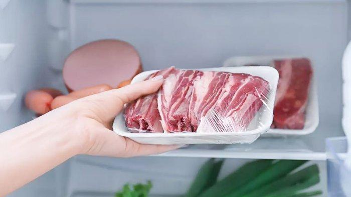 CARA SIMPAN - Inilah cara simpan daging yang benar agar awet hingga 2 bulan. FOTO: ILUSTRASI