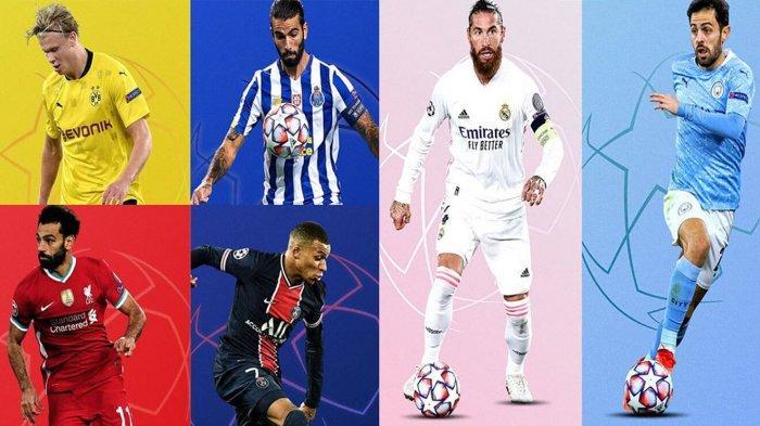 Daftar Tim yang Lolos ke Perempat Final Liga Champions 2020-2021, Tersisa 2 Tim Lagi