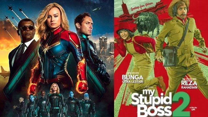 My Stupid Boss 2 hingga Captain Marvel, Inilah Daftar Film Bioskop yang Tayang Maret 2019