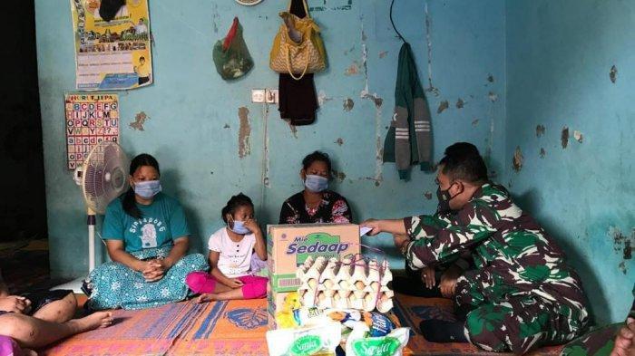 Berempati, Kodim 0316/Batam Kunjungi Rumah Duka Korban Mobil Terbakar SPBU Merapi Subur