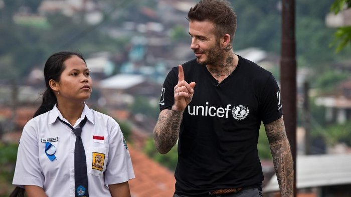 Sedih dengan Gempa Palu, David Beckham Ungkapkan Ini di Instagram Pribadinya