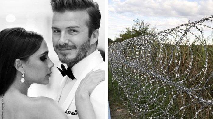 David Beckham Pasang Kawat Berduri di Sekitar Rumahnya, Gegara 2 Kali Rumahnya Jadi Sasaran Pencuri