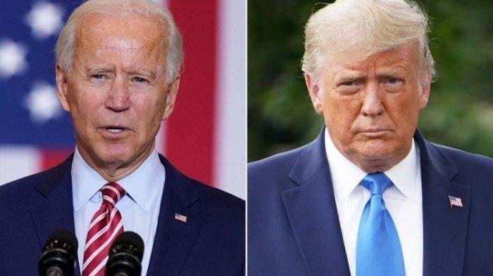 Joe Biden Menang Pilpres Amerika Serikat, Donald Trump Tertunduk Ketika Memasuki Gedung Putih