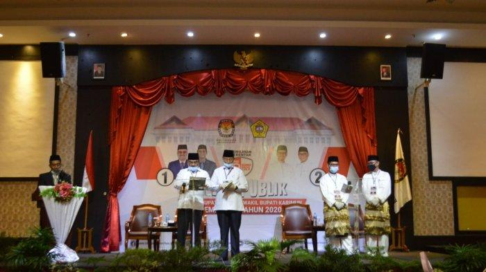 Jelang Debat Kandidat Kedua Paslon Pilkada Karimun, KPU Evaluasi Pelaksanaan Debat Putaran Pertama