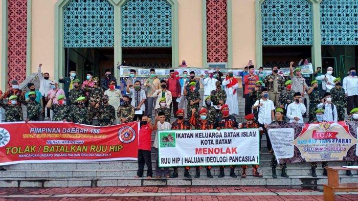 MUI Bersama 40 Ormas di Batam Deklarasi Tolak RUU-HIP, 'Jangan Khianati Rakyat'