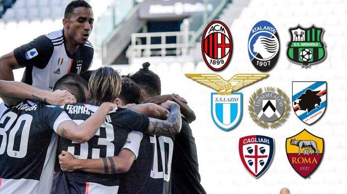8 Laga Sisa Juventus, Lawan AC Milan, Lazio, Atalanta ...